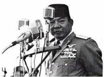 image soekarno_ delivering a speech