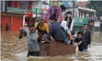 image flood in jakarta